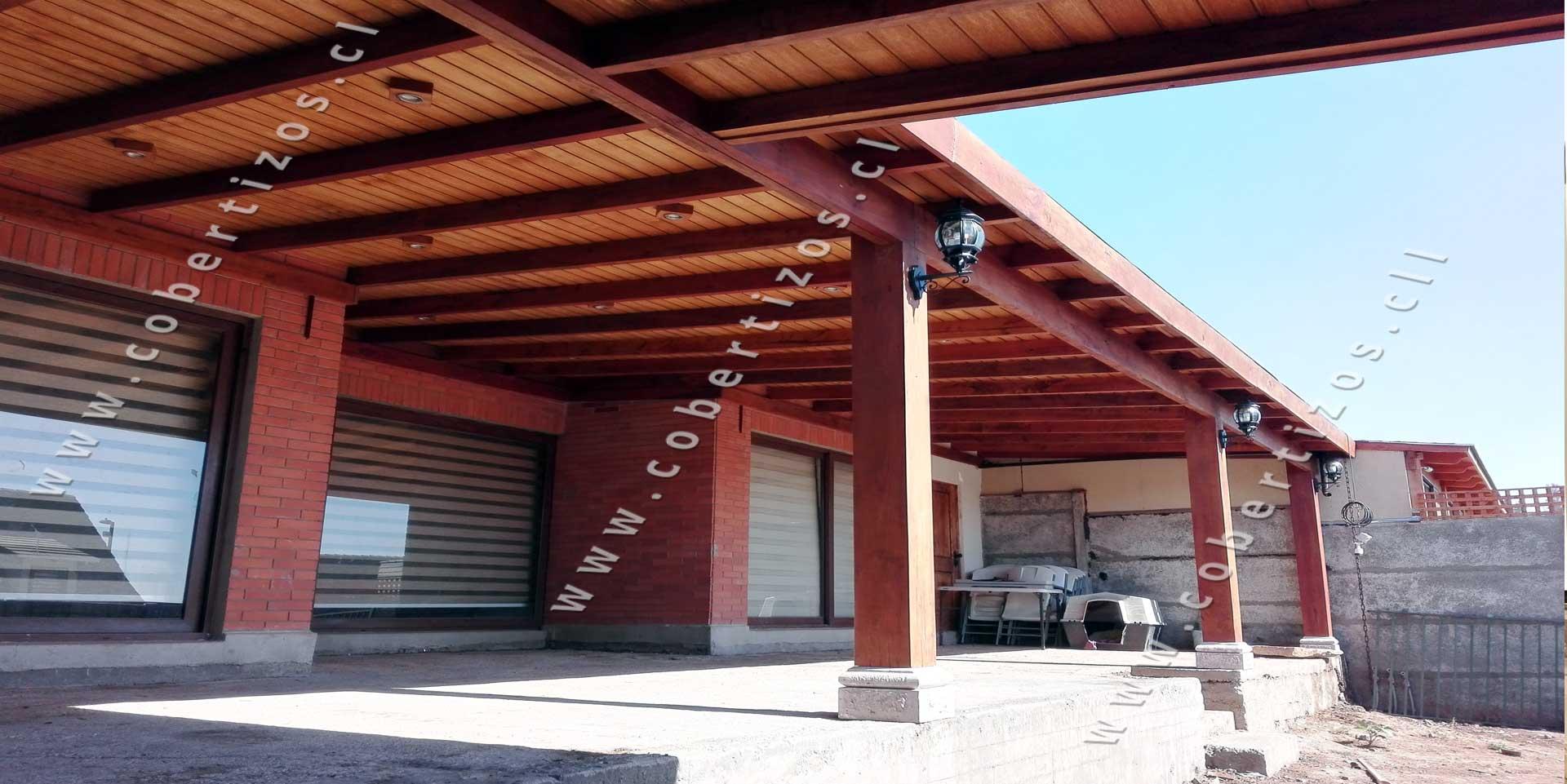 Cobertizos de madera quinchos cobertizos for Cobertizos de madera prefabricados