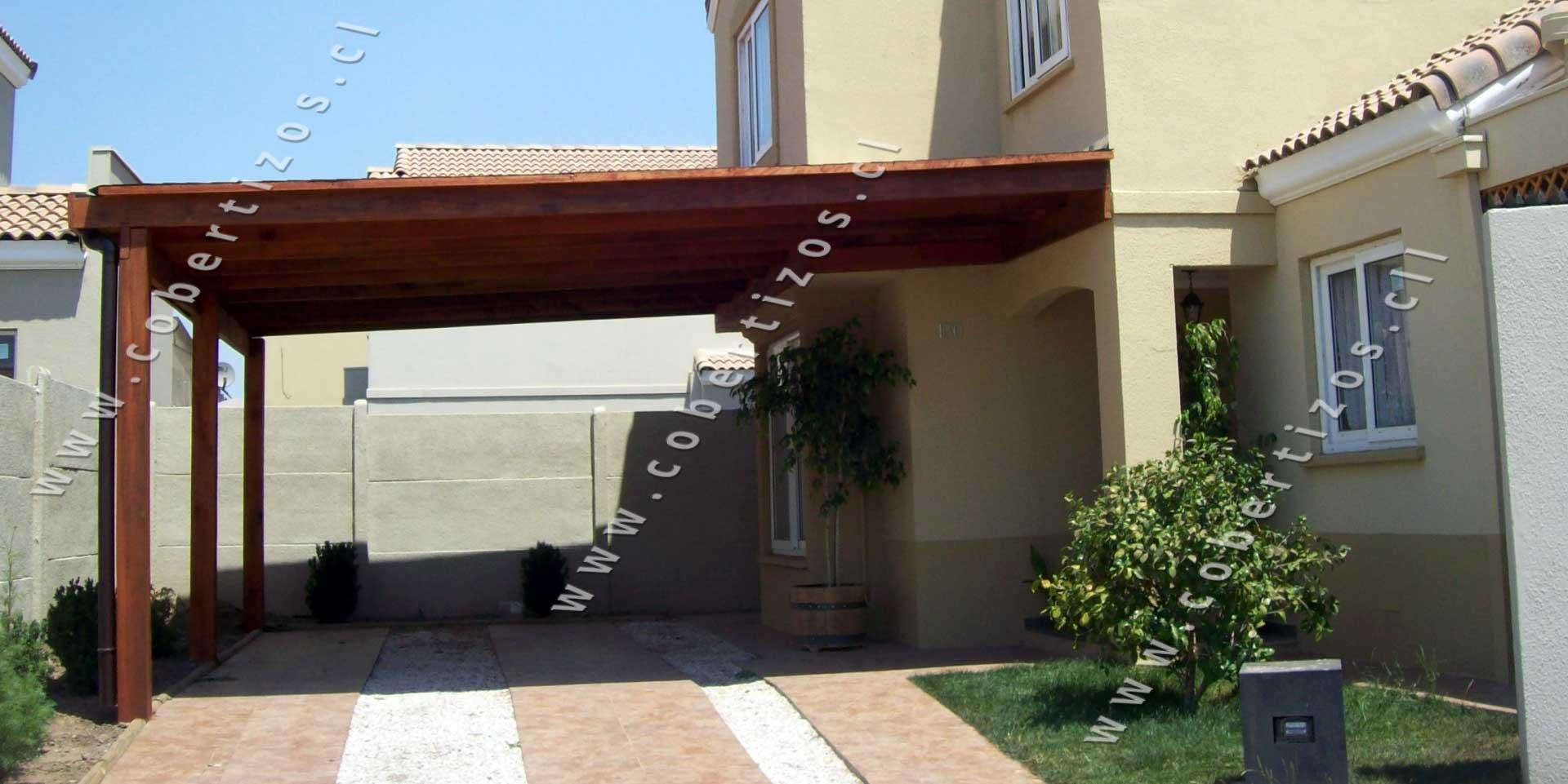 Cobertizos de madera quinchos cobertizos for Cobertizo para exteriores