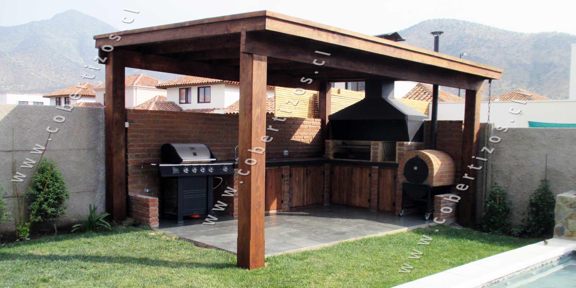 Pergolas de madera techos de terrazas pergolas itamar for Terrazas madera
